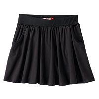 Girls Plus Size SO® Ribbed Waist Knit Skirt