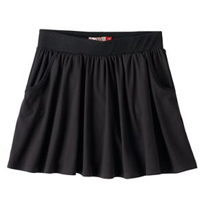 Girls 7-16 SO® Ribbed Waist Knit Skirt