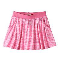 Girls 7-16 SO® Ribbed Waist Knit Skirt