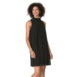 Women's Chaps Mockneck Shift Dress