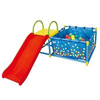 EEZY PEEZY Slide & Ball Pit Play Set