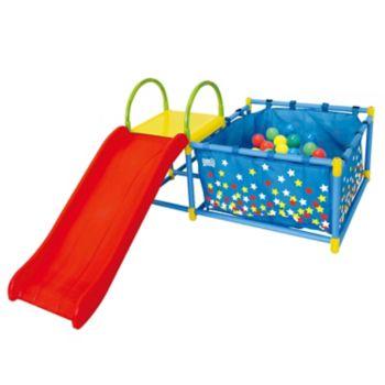 EEZY PEEZY Slide & Ball Pit Play Set