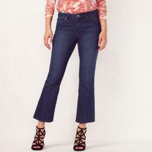 Women's LC Lauren Conrad Bootcut Kick Crop Jeans