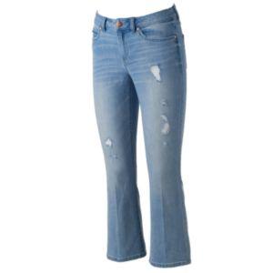 Women's LC Lauren Conrad Bootcut Kick Crop Jeans!