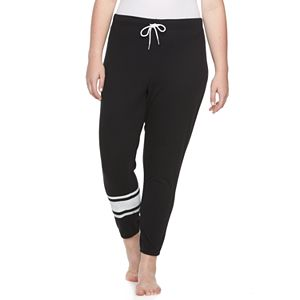 Juniors' Plus Size SO® Knit Jogger Pants