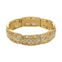 1928 Milgrain Chevron Stretch Bracelet