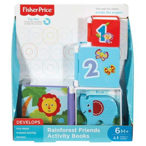 Fisher-Price Rainforest Friends Activity Books