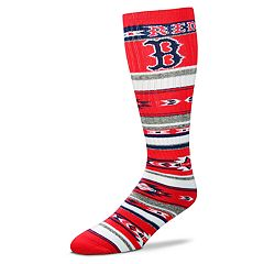 Adult For Bare Feet Boston Red Sox Tailgater Crew Socks