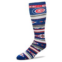 Adult For Bare Feet Chicago Cubs Tailgater Crew Socks
