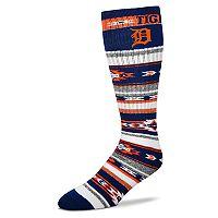 Adult For Bare Feet Detroit Tigers Tailgater Crew Socks