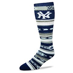 Adult For Bare Feet New York Yankees Tailgater Crew Socks