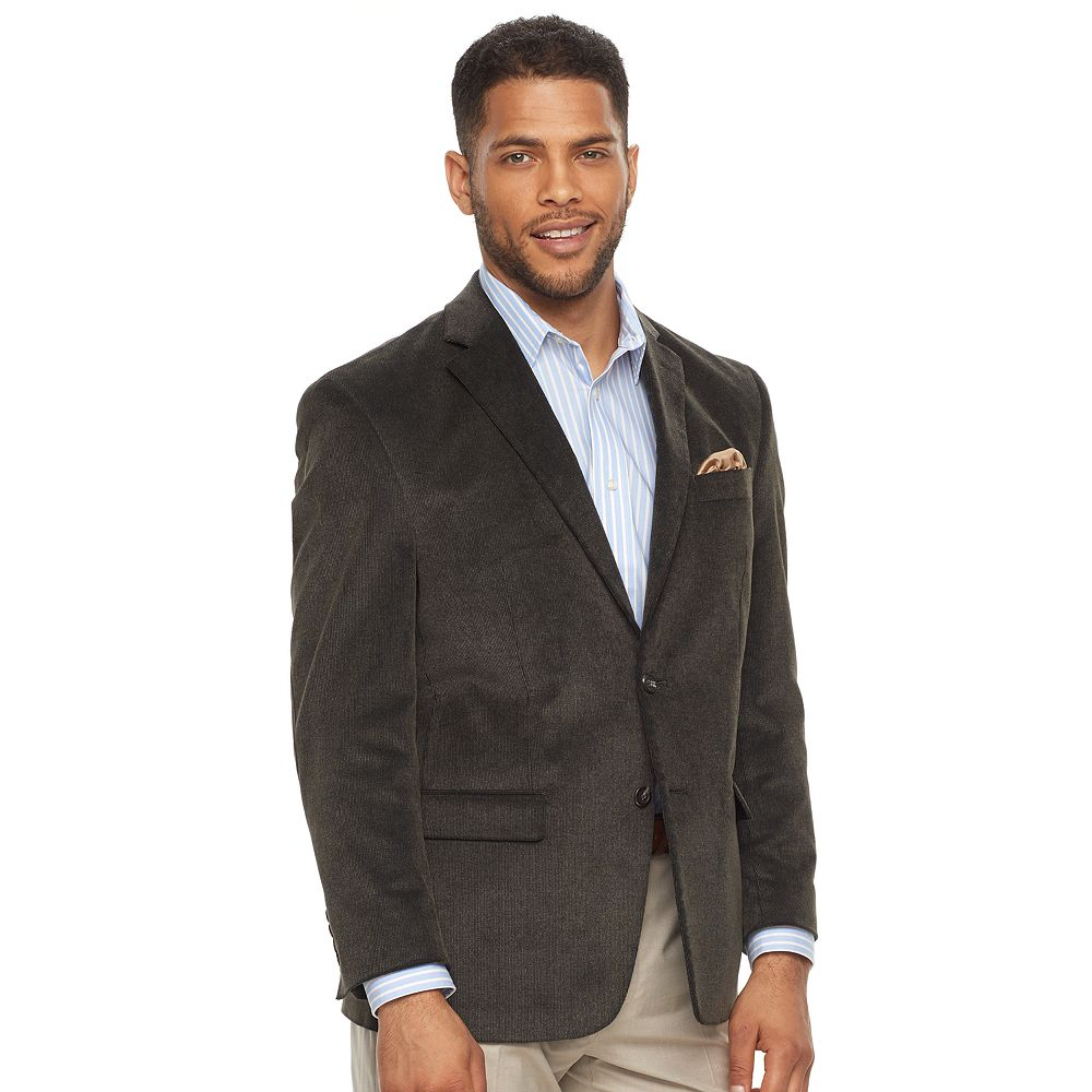 Mens Grey Chaps Dress Blazers & Suit Jackets - Tops, Clothing | Kohl's