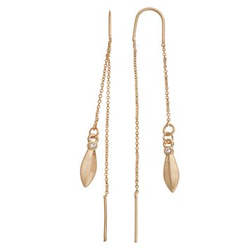 Simply Vera Vera Wang Marquise Nickel Free Threader Earrings