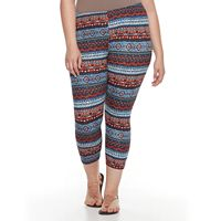 Plus Size French Laundry Capri Peached Leggings