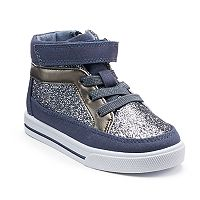 OshKosh B'gosh® Ginger 2 Toddler Girls' High Top Sneakers