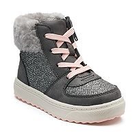 OshKosh B'gosh® Sporty Toddler Girls' High Top Sneakers