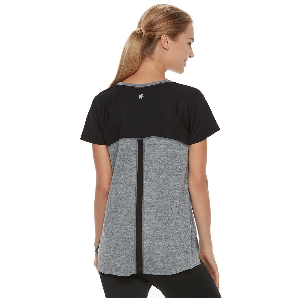Women's Tek Gear® Performance Side Slit Base Layer Tee