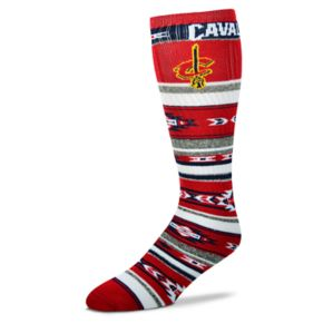 Adult For Bare Feet Cleveland Cavaliers Tailgater Crew Socks