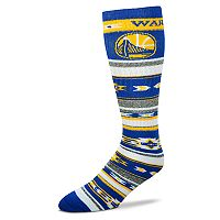 Adult For Bare Feet Golden State Warriors Tailgater Crew Socks