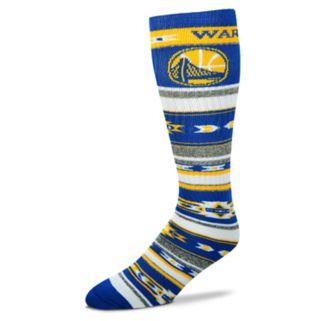 Adult For Bare Feet Golden State Warriors Tailgater Crew Socks