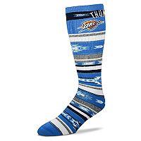 Adult For Bare Feet Oklahoma City Thunder Tailgater Crew Socks