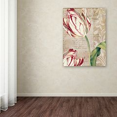 Trademark Fine Art Tulips Canvas Wall Art