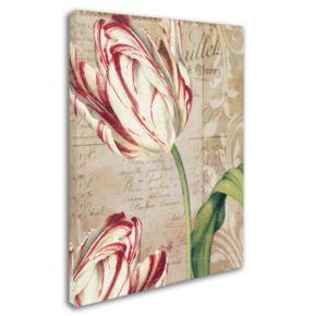Trademark Fine Art Tulips Canvas Wall Art