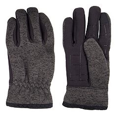 Men's Levi's® Heathered Knit Touchscreen Gloves