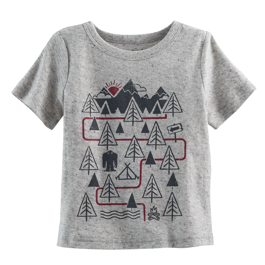 Baby Boy Jumping Beans® Mountains Softest Tee