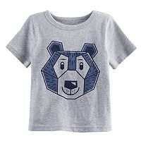 Baby Boy Jumping Beans® Bear Geometric Softest Tee