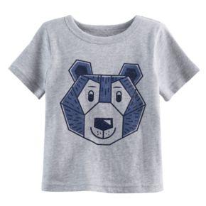 Baby Boy Jumping Beans® Bear Geometric Softest Tee
