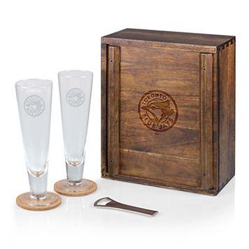 Picnic Time Toronto Blue Jays Pilsner Beer Gift Set