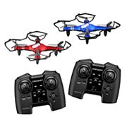 Propel Star Quest Laser Battling Indoor / Outdoor High-Performance Drone (2-Pack)