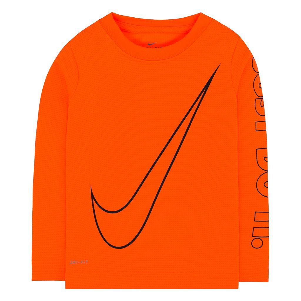 Toddler Boy Nike Dri-FIT Thermal Logo Tee