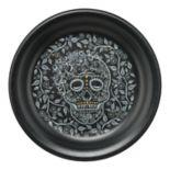 Fiesta Skull & Vine Appetizer Plate