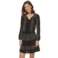 Women's SONOMA Goods for Life™ Printed Gauze A-Line Dress
