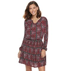 Women's SONOMA Goods for Life™ Printed Gauze A-Line Dress