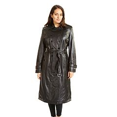 Women's Excelled Lambskin Trench Coat