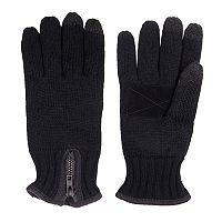Men's Levi's® Heathered Knit Gloves with Zipper