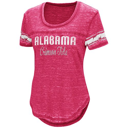 Women's Campus Heritage Alabama Crimson Tide Double Stag Tee
