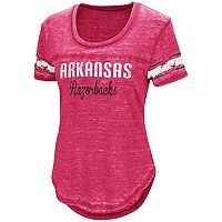 Women's Campus Heritage Arkansas Razorbacks Double Stag Tee
