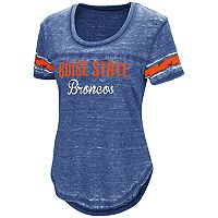 Women's Campus Heritage Boise State Broncos Double Stag Tee