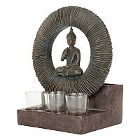 Bombay® Outdoors Buddha Planter & Tealight Candle Holder 4-piece Set