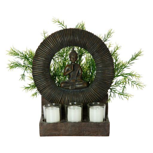 Bombay® Outdoors Buddha Planter & Tealight Candle Holder 4-piece Set