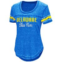Women's Campus Heritage Delaware Blue Hens Double Stag Tee
