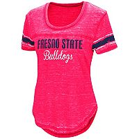 Women's Campus Heritage Fresno State Bulldogs Double Stag Tee