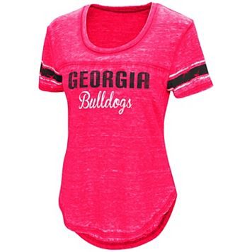 Women's Campus Heritage Georgia Bulldogs Double Stag Tee