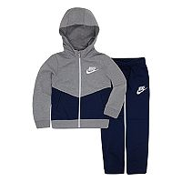 Boys 4-7 Nike Fleece Track Suit Set