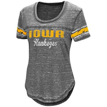 Women's Campus Heritage Iowa Hawkeyes Double Stag Tee