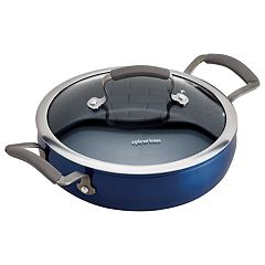 Epicurious 3-qt. Covered Sauteuse Pan